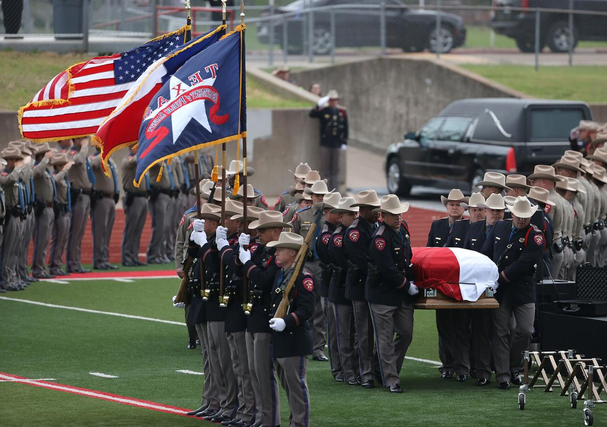 Texas State Trooper Funeral