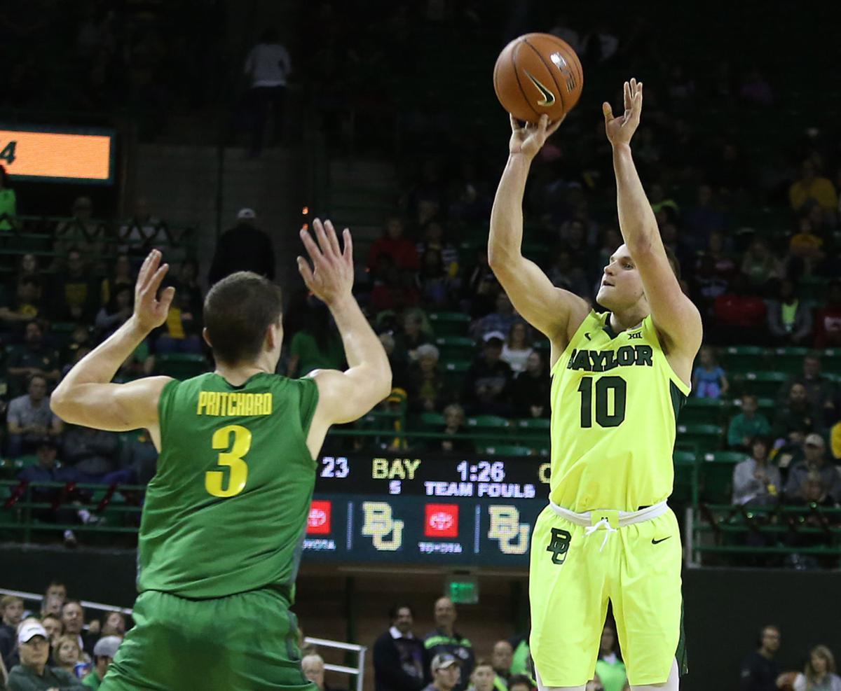 Oregon Baylor Basketball