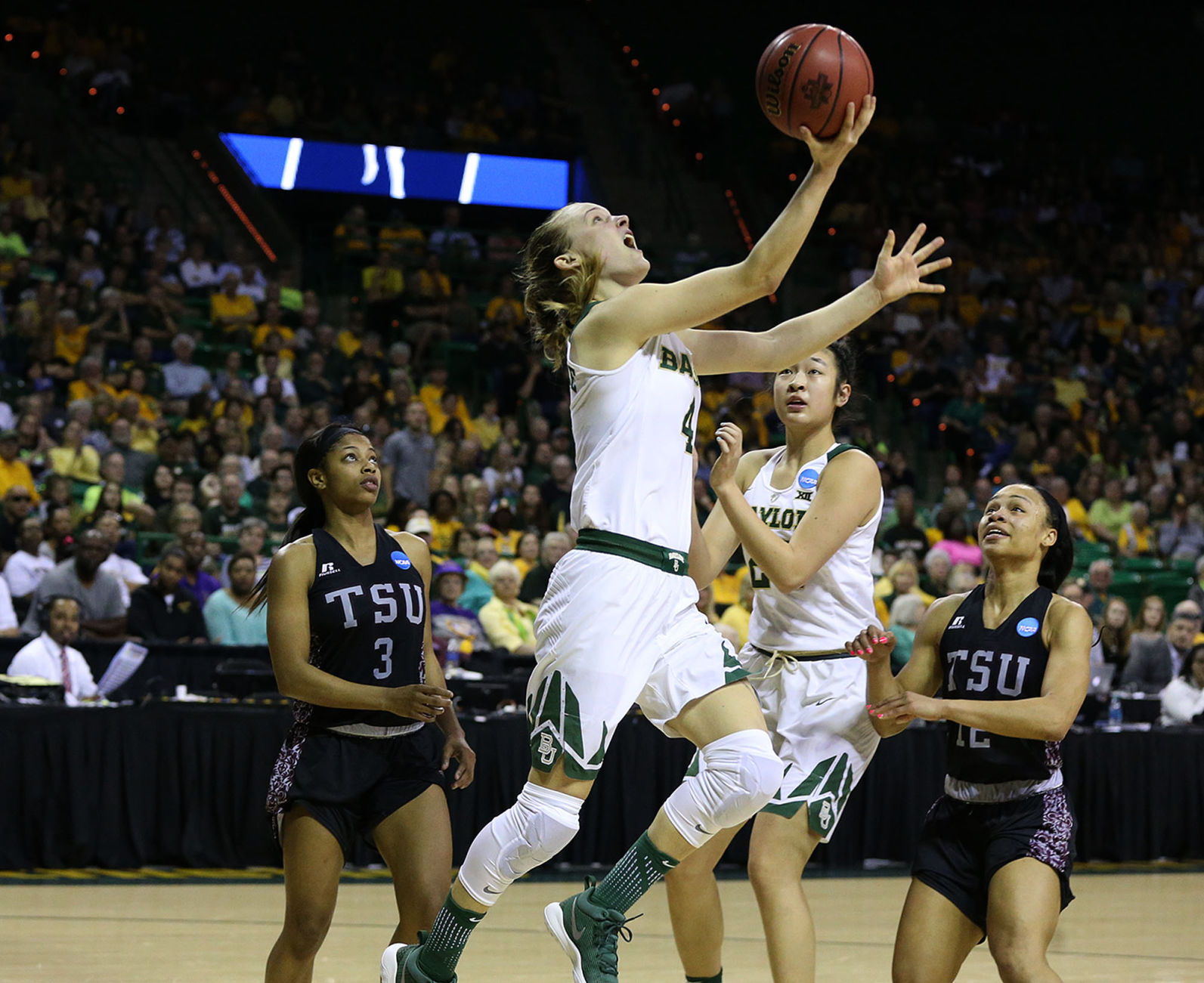 Baylor Texas Southern Lady Bears cruise past