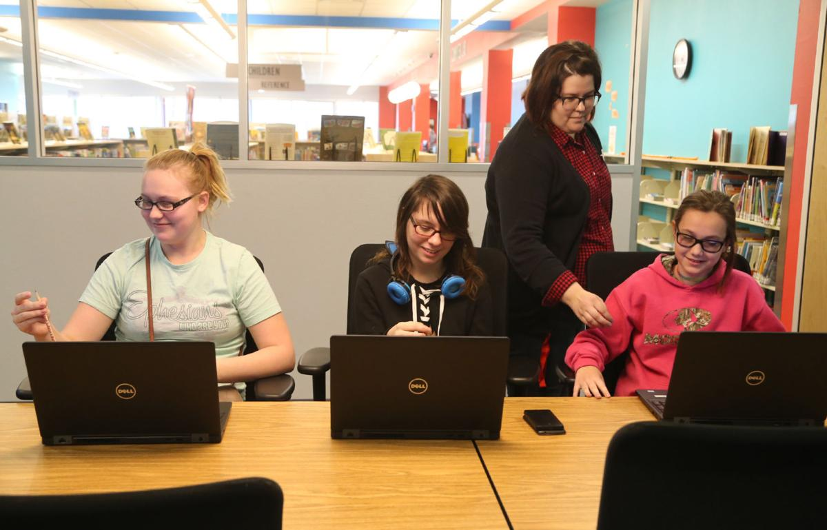 East Waco Library Girls Who Code