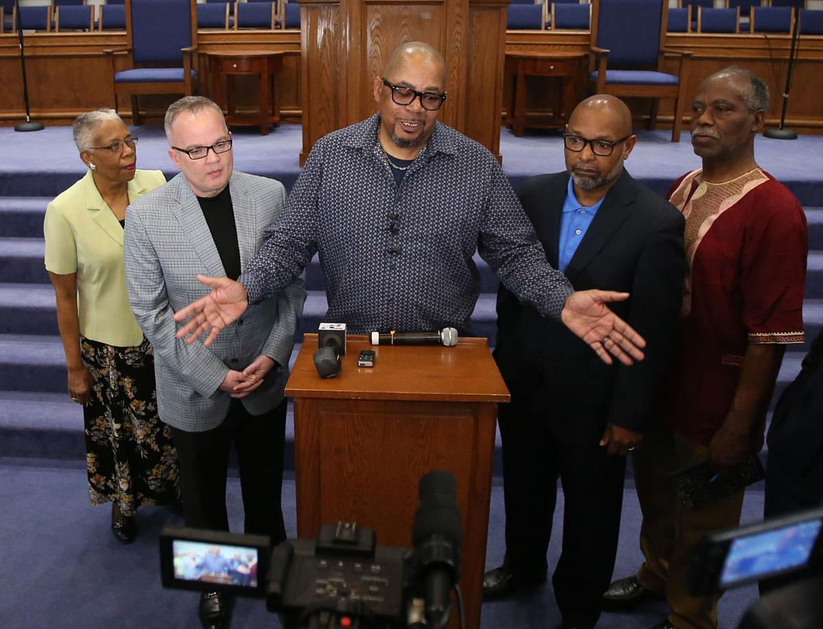 Local clergy support Waco ISD Superintendent A. Marcus Nelson