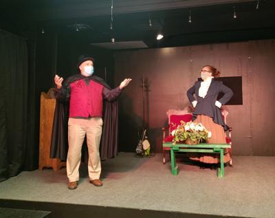 Brazos Theatre melodrama