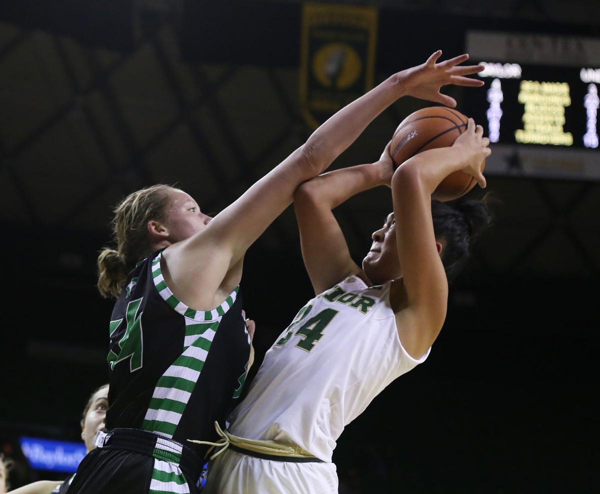 North Dakota Baylor Basketball