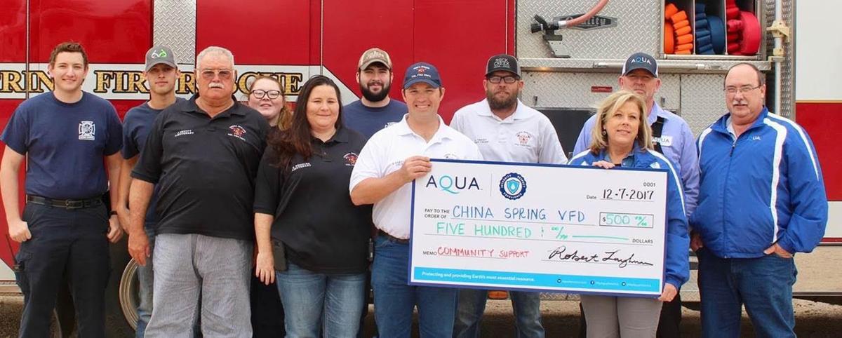 Aqua Texas China Spring