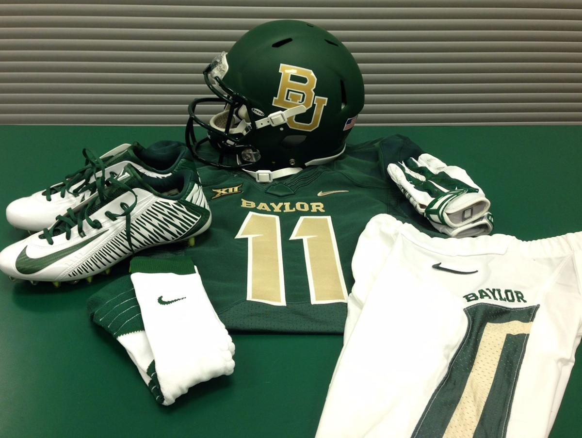 fdf00ab19 Baylor s endless variety of uniforms has given football program an edge with  recruits