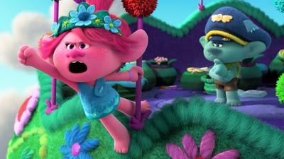 """Poppy and Branch (voiced by Anna Kendrick and Justin Timberlake) are back in the movie """"Trolls World Tour."""" In a landmark deal that could change the shape of film distribution, AMC Theatres and Universal Pictures have agreed on a pact to release big Hollywood films in the home much sooner than before."""