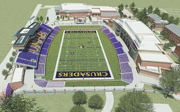 Umhb To Get New Football Stadium Too With Help Of Mclane Family
