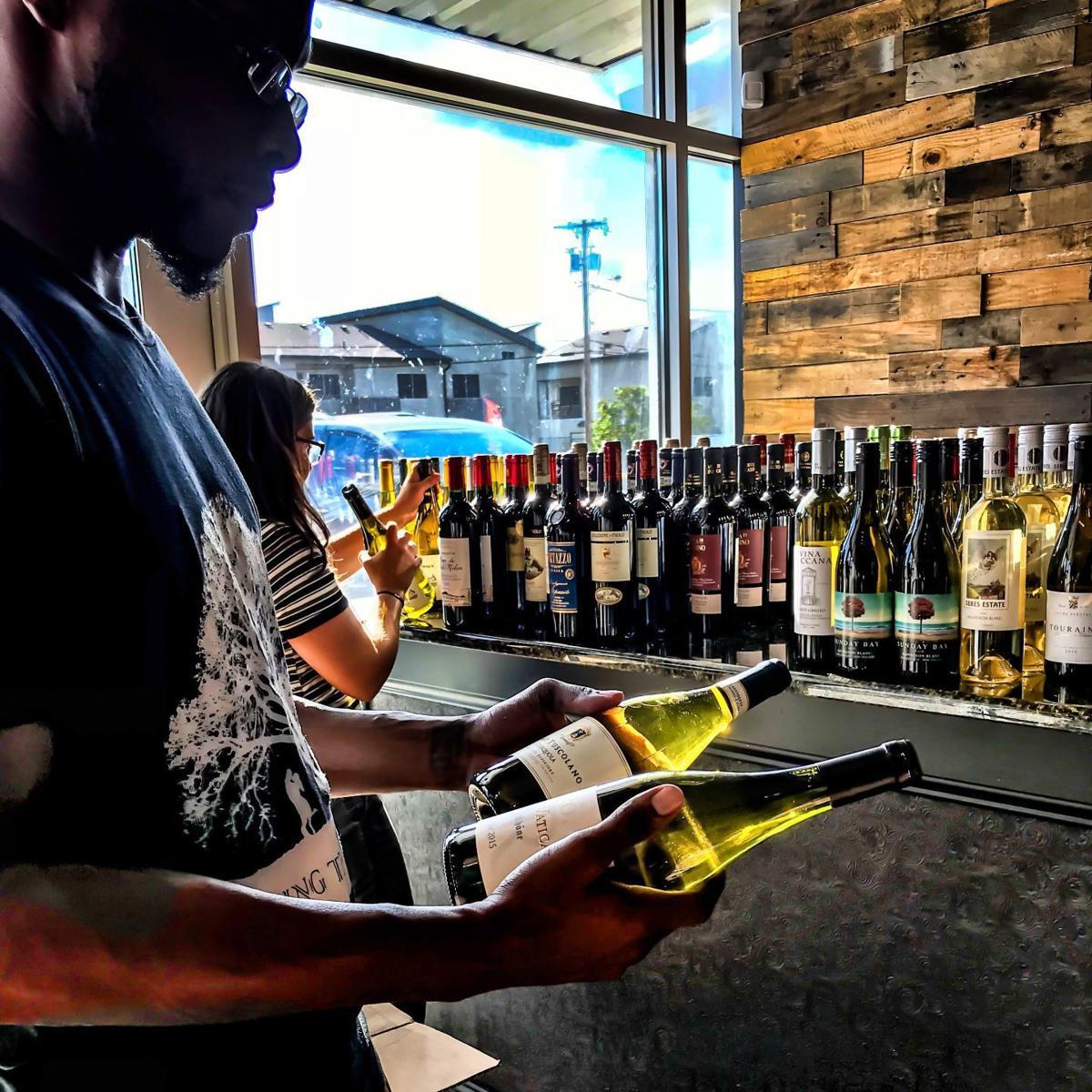 BTK wine bottles