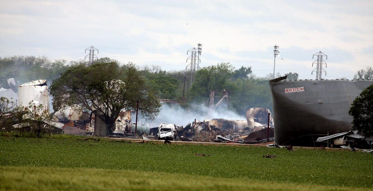 West explosion