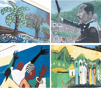 Hidden artworks: The story of 4 outdoor murals around Waco