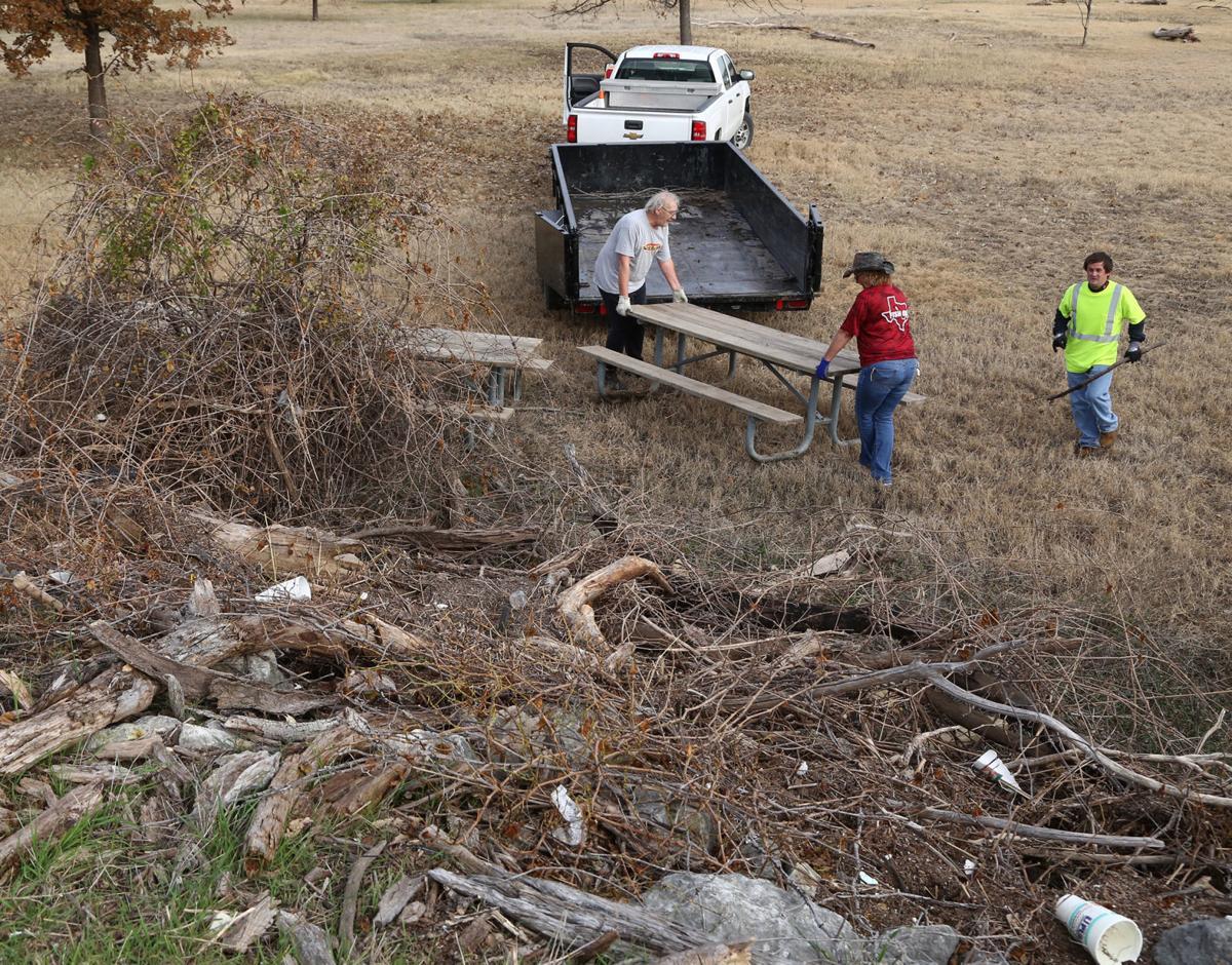 Lake Waco Cleanup