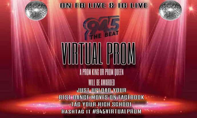 KWBT Virtual prom