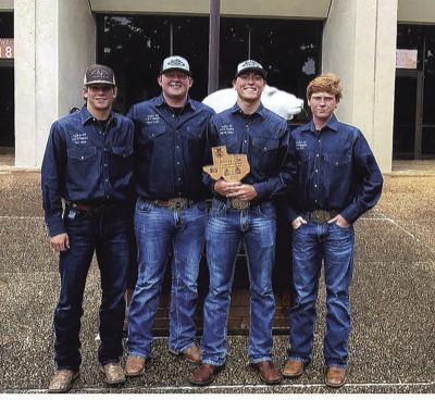 Crawford FFA team