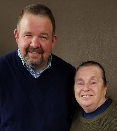 Mary Duty and Brad Holland