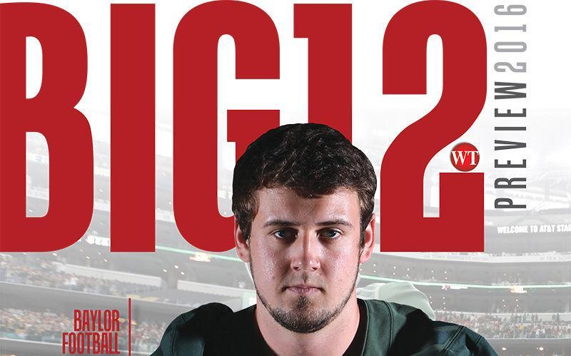 Big 12 magazine cover