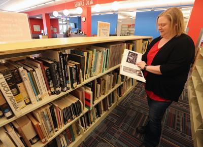 East Waco Library art books