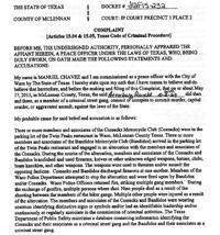Ronald Atterbury Arrest Warrant Affidavit May 17 2015