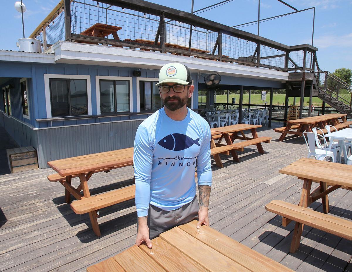 The Minnow Restaurant At Lake Waco Marina Back Up And