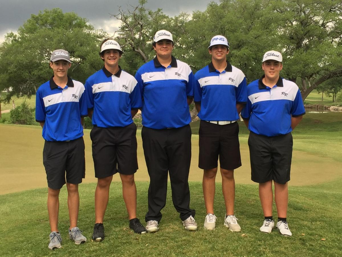 Robinson boys' golf team