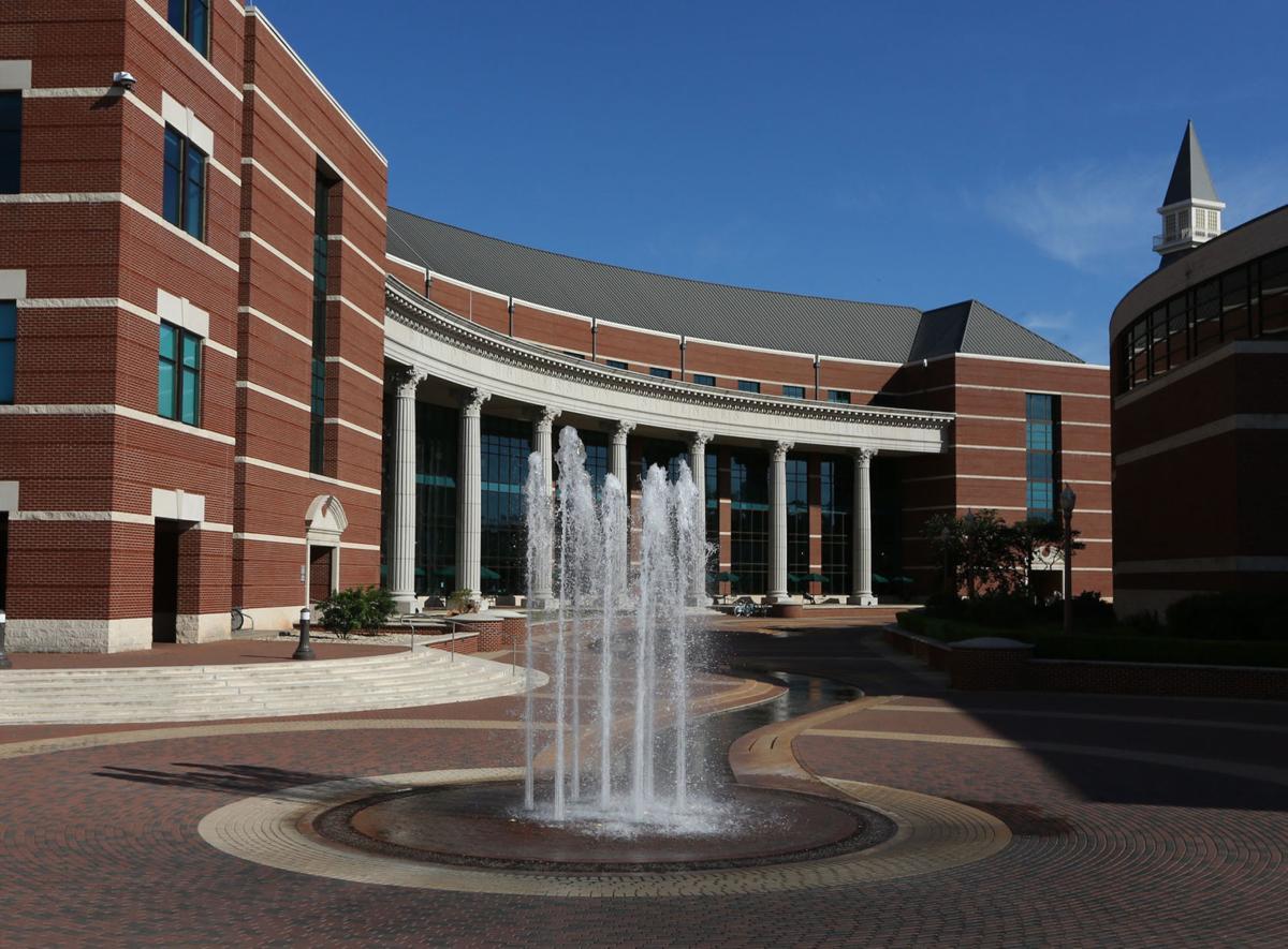 Baylor campus science building