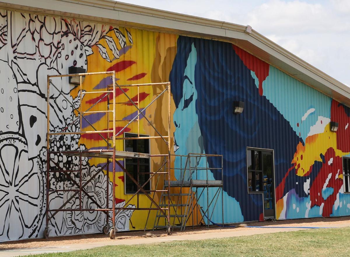 Family Health Center mural