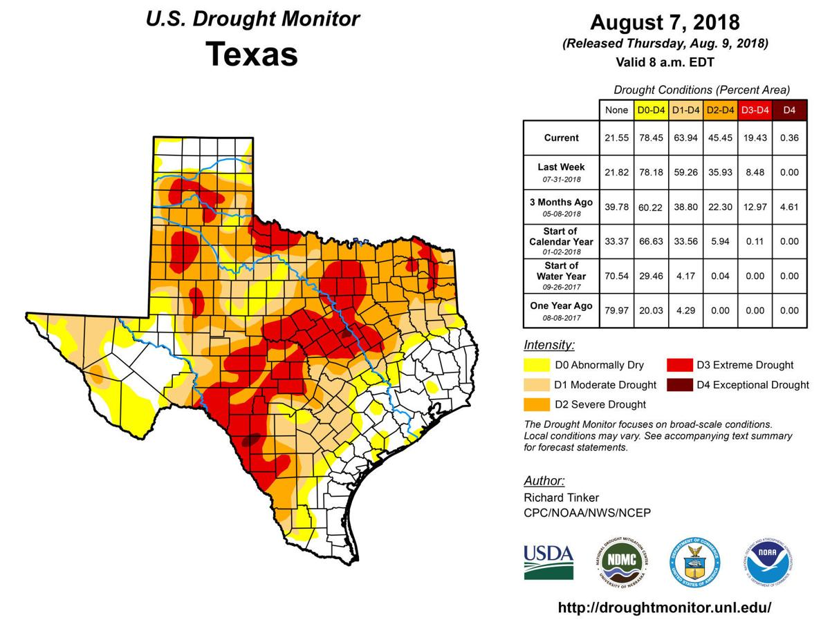 Recent Rains Not Enough To Turn Around Area S Drought Local News