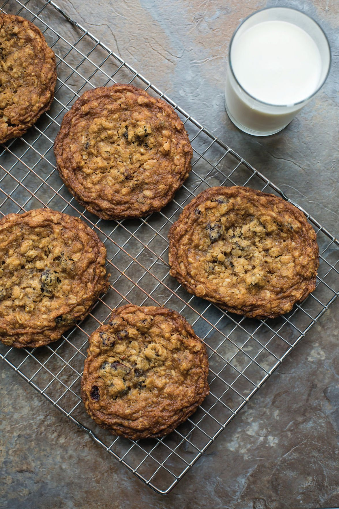 Food Deadline Big Oatmeal Cookies