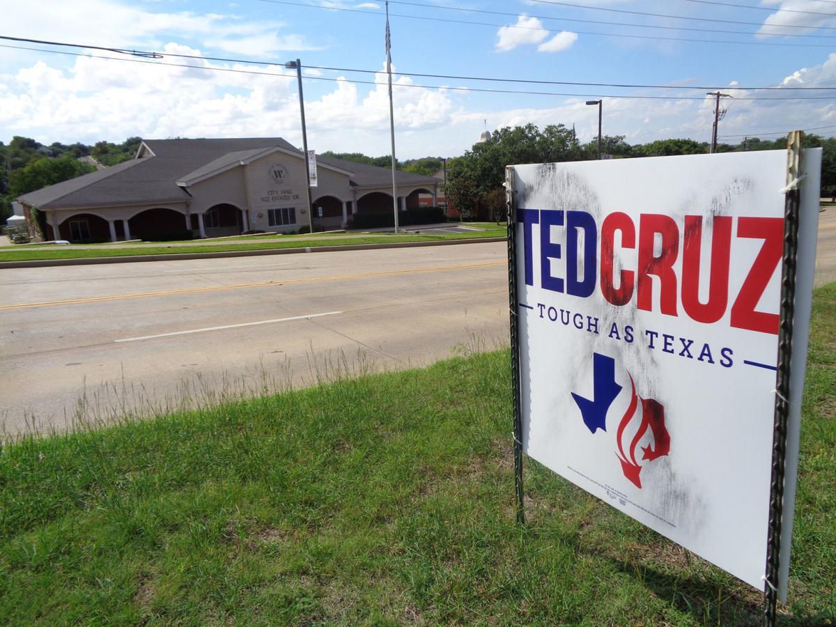 Sunday Focus - Cruz campaign sign