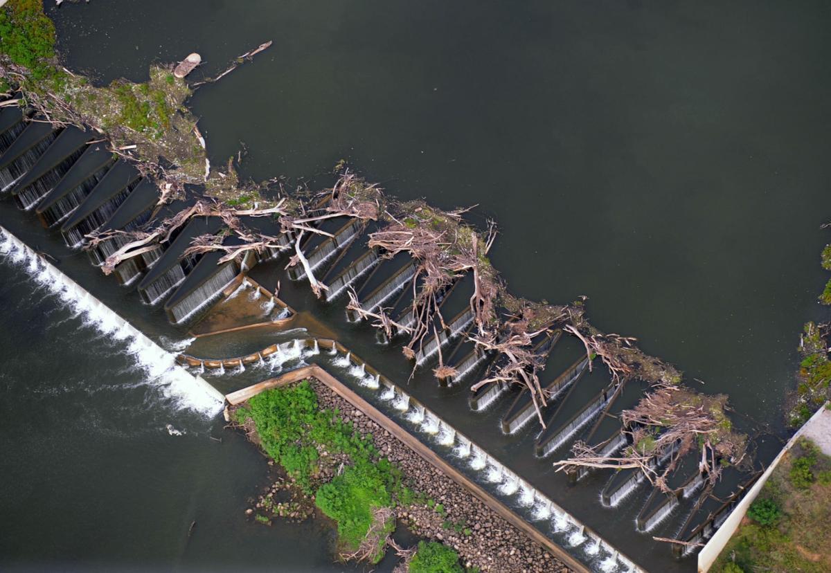 Low water dam