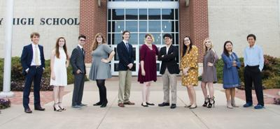 Midway National Merit students