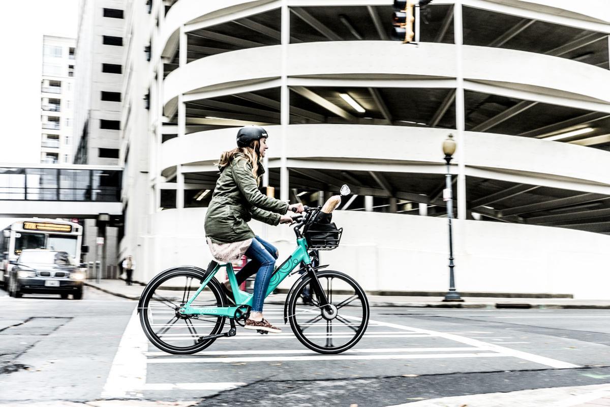 Rider on Gotcha Bike