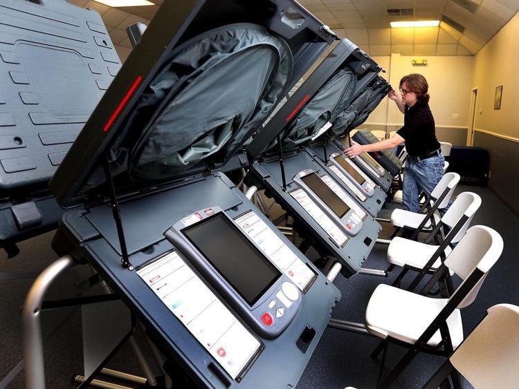 Vote machines