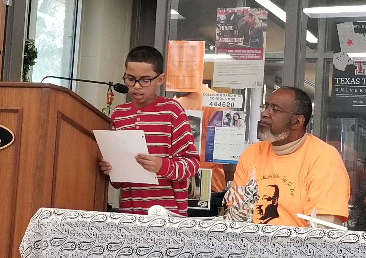 MLK essay winner