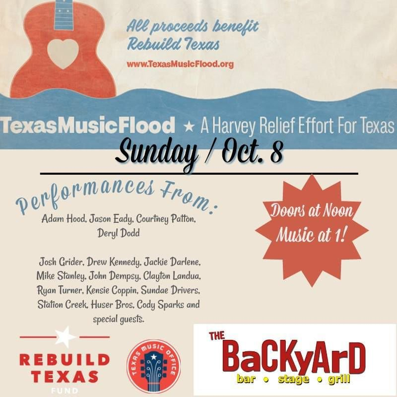 Texas Music poster