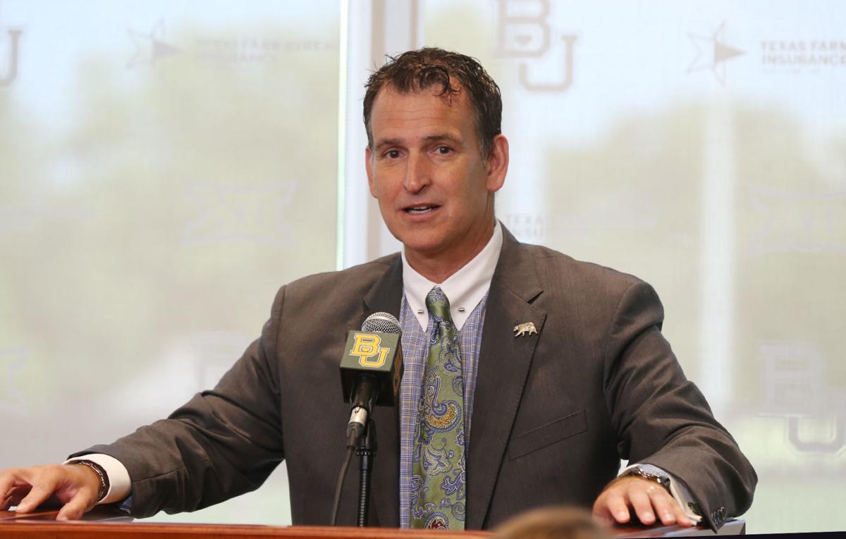 Baylor athletic director Mack Rhoades (copy)