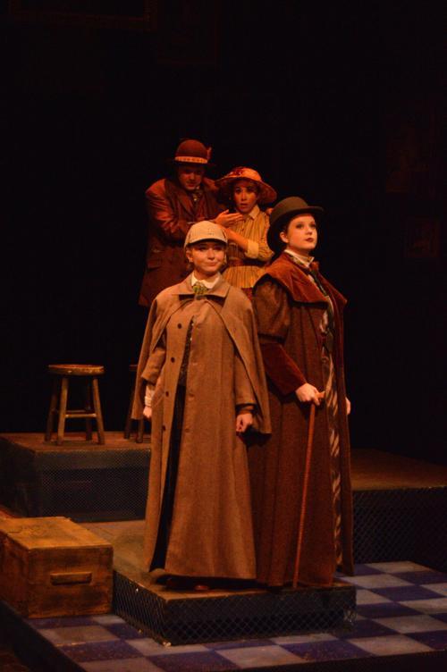 """Baylor Theatre's """"Baskerville"""""""