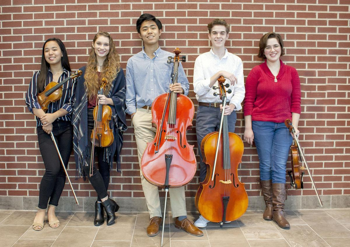 Midway all-state orchestra students