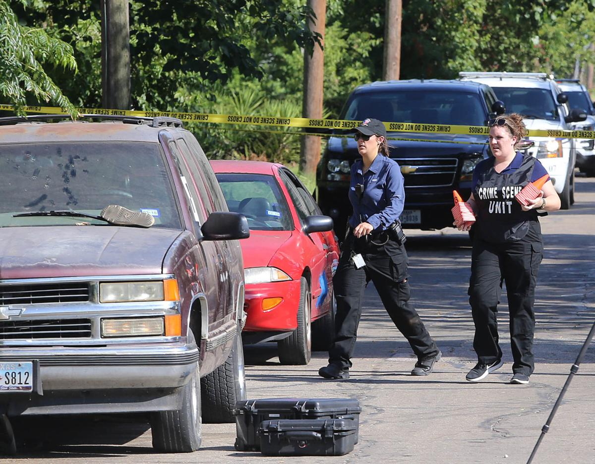 Police negotiating with possible suspect after man killed