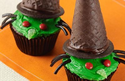 Recipe of the Day: Halloween Cupcakes