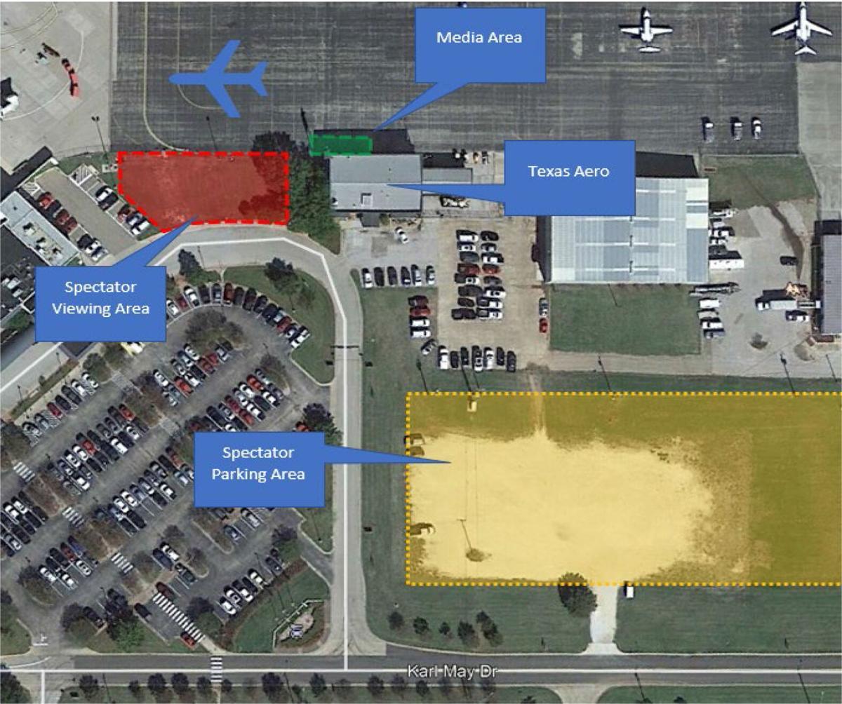 Baylor airport map