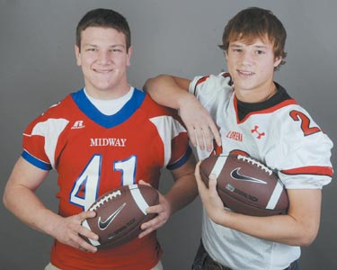 TRIBUNE-HERALD SUPER CENTEX FOOTBALL TEAM: Lorena, Midway playmakers area's best