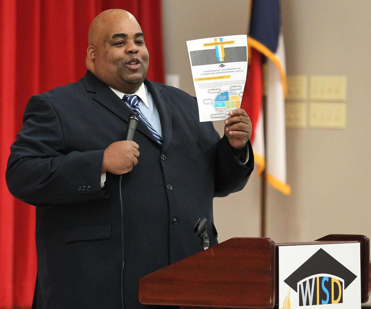 Superintendent A. Marcus Nelson
