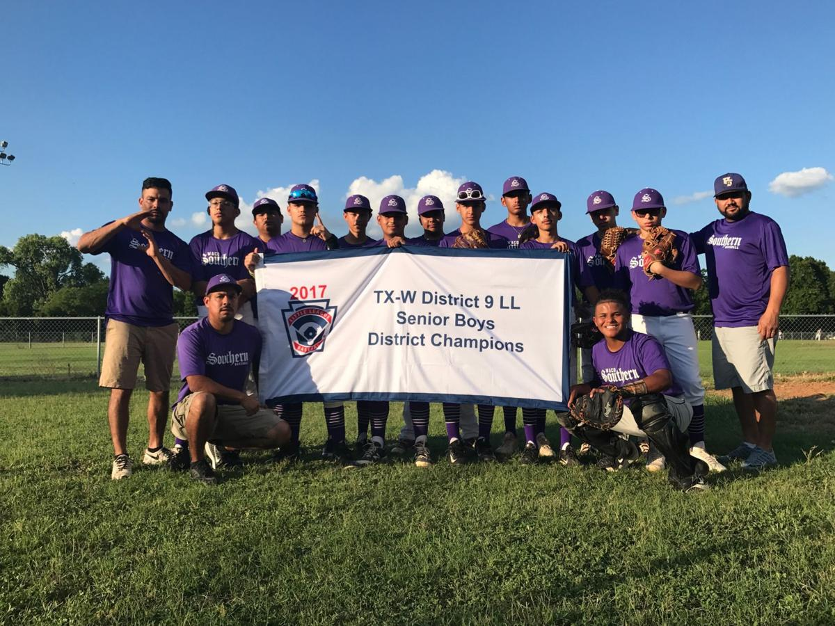 District 9 LL senior league