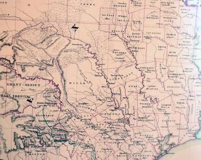 Texas, Waco maps trace history in Historic Waco Foundation exhibit