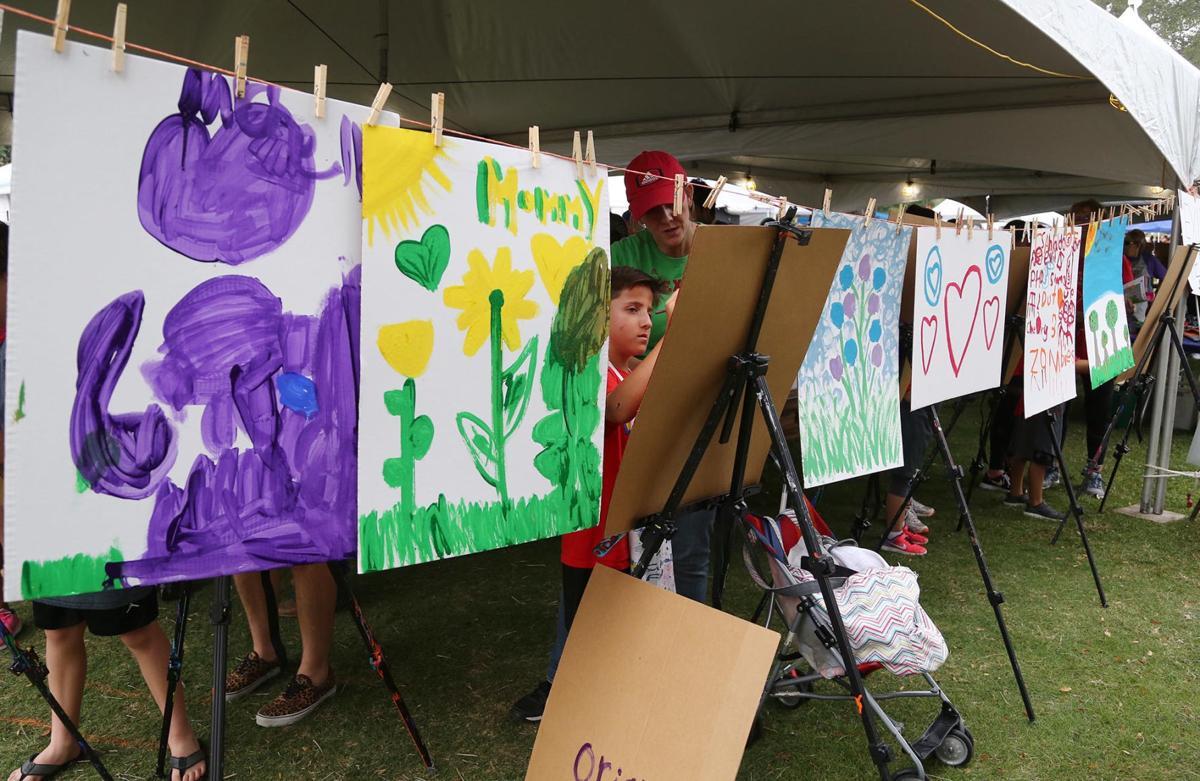 Waco Art Festival - painting