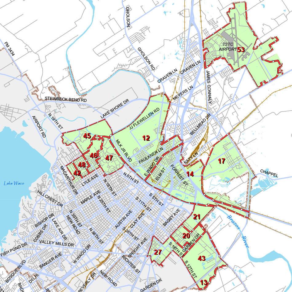 District 1 city council map