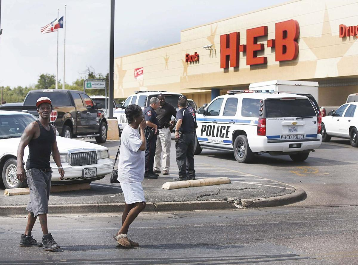 Brisket theft suspect shot by police at H-E-B after pulling