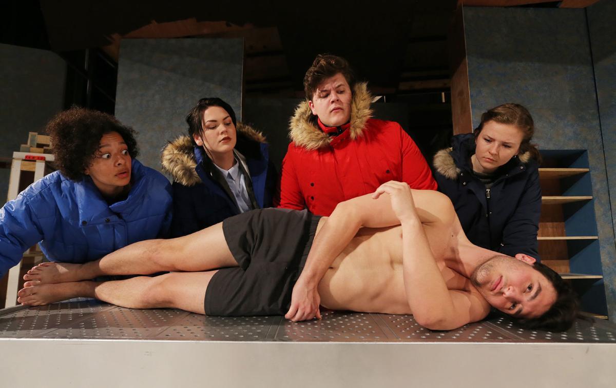 "Baylor Theatre play ""Mnemonic"""