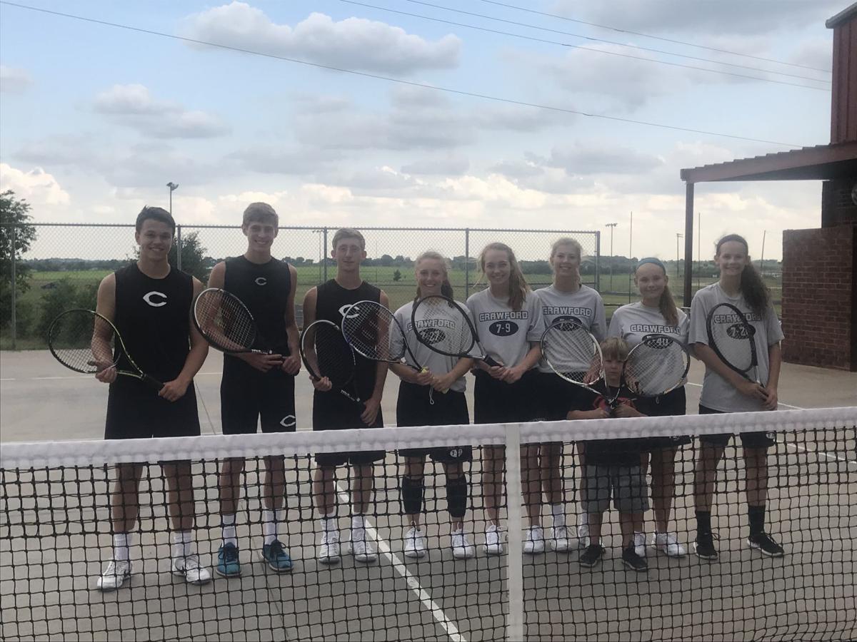 Crawford state tennis