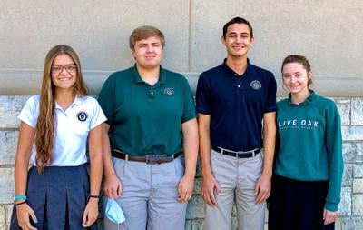 Live Oak National Merit students